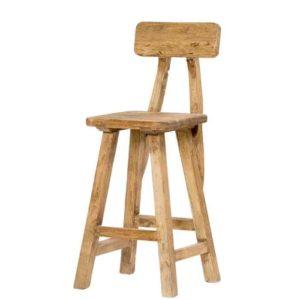 כסא בר מושב מרובע - תמונה ראשית