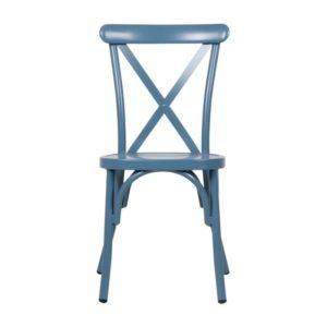 כסא אלומניום איקס כחול