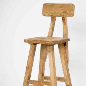 כסא בר מושב מרובע