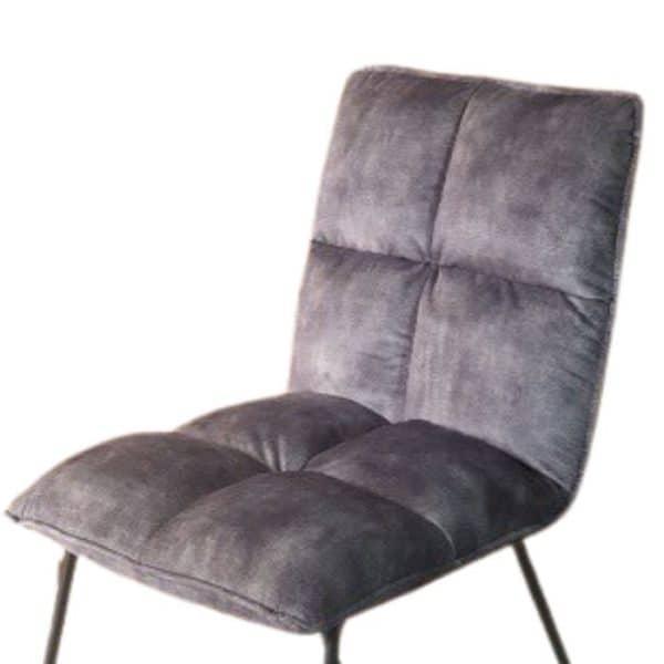 כסא אוכל LUKA אפור בהיר