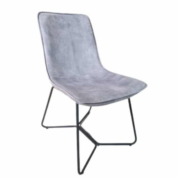 כסא אוכל PLOMARI אפור