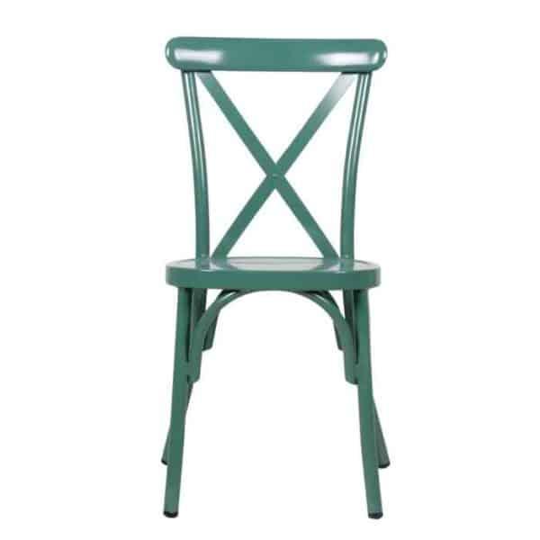 כסא אלומניום איקס ירוק