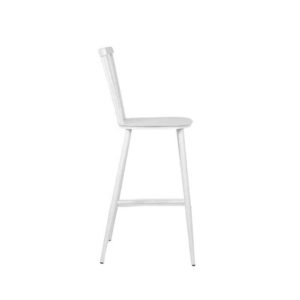 כסא בר וינטאג׳ לבן