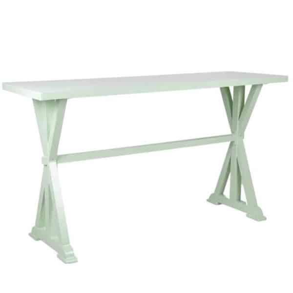 שולחן בר רגל איקס פסטוק