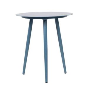 שולחן קפה עגול  כחול - תמונה ראשית