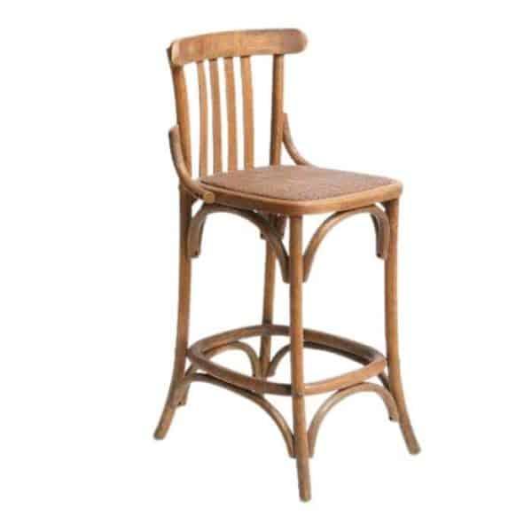 כסא בר של פעם טבעי