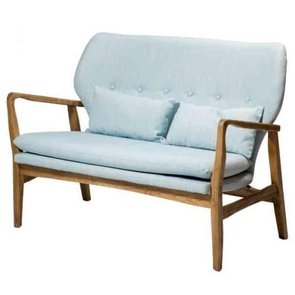 ספה זוגית KYLA תכלת - תמונה ראשית