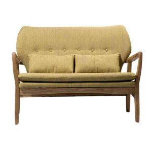 ספה זוגית KYLA חרדל - תמונה ראשית