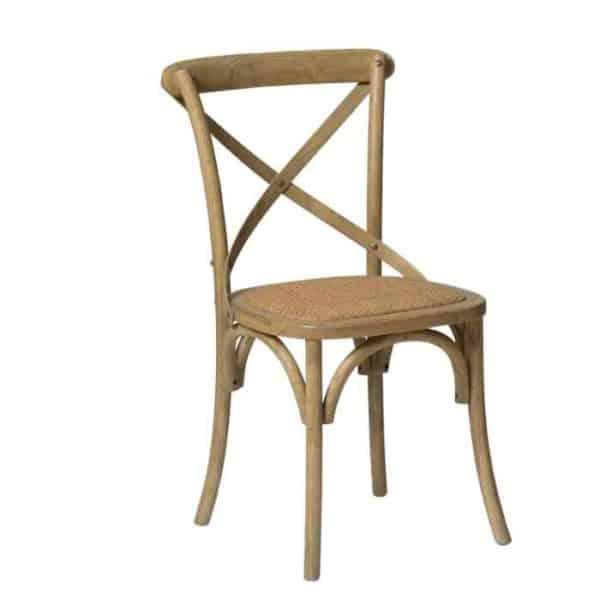 כסא אוכל גב איקס טבעי - תמונה ראשית