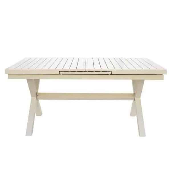 שולחן אלומיניום איקס נפתח