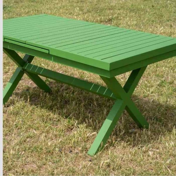 LINEN שולחן אלומיניום לגינה 180 ס״מ