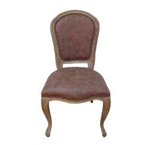 כסא מעוצב דמוי עור