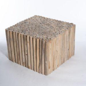 שולחן סלון ענפי טיק Toleno
