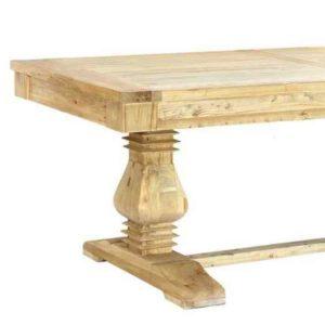 MOIA שולחן אבירים מעץ מלא