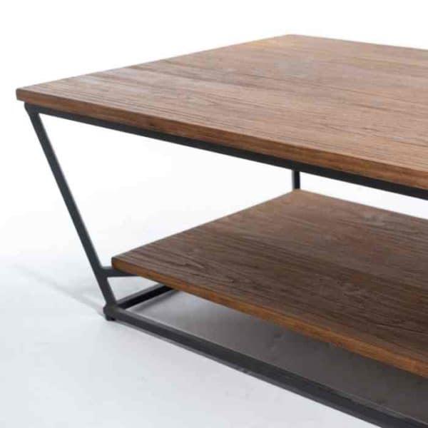 MALAGA שולחן סלון טרפז מעוצב