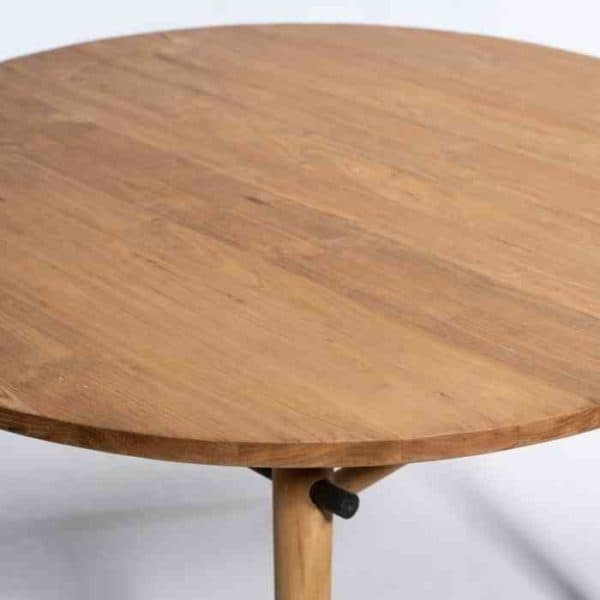 NEW YOLI שולחן אוכל עגול מעוצב