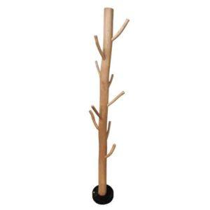 Zipper מתלה בגדים מעץ טבעי