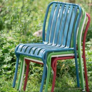 LINEN כסא אלומיניום בלי ידיות
