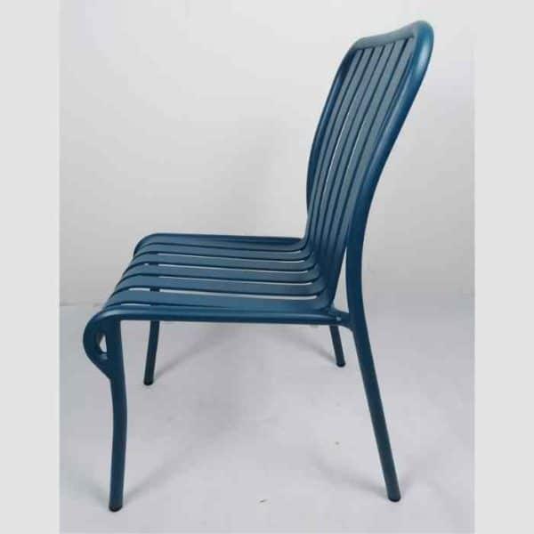LINEN כסא אלומיניום כחול
