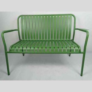 LINEN ספסל אלומיניום ירוק