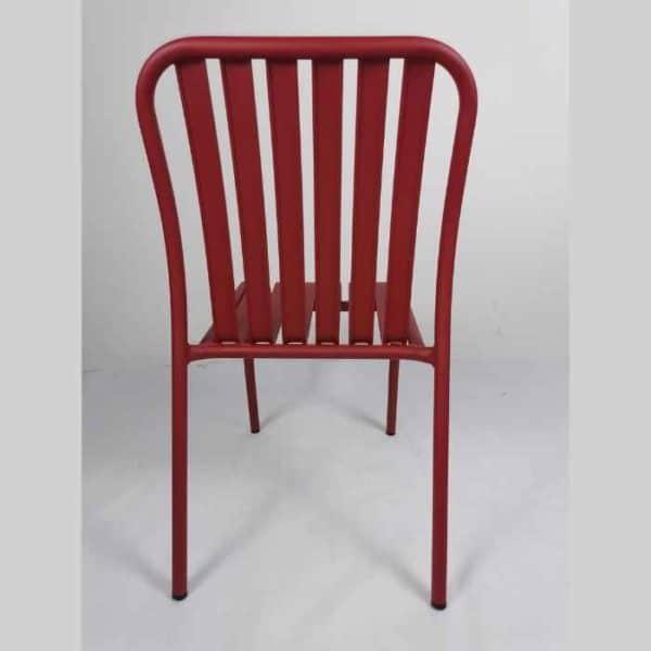 LINEN כסא אלומיניום אדום