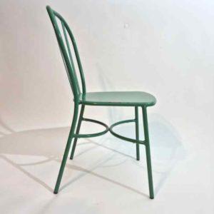 Joy כסא אלומיניום ירוק מעוצב