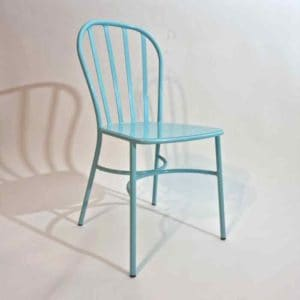 Joy כסא אלומיניום מעוצב בצבע תכלת