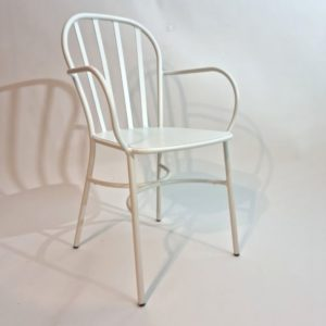 Joy כסא אלומיניום לגינה עם ידיות
