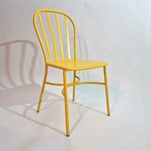 Joy כסא אלומיניום צהוב