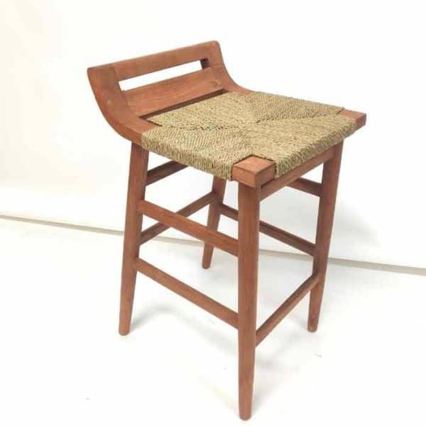 JEPARA כסא בר משענת נמוכה